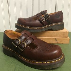 Dr Martens Double Buckle Mary Janes #1B62